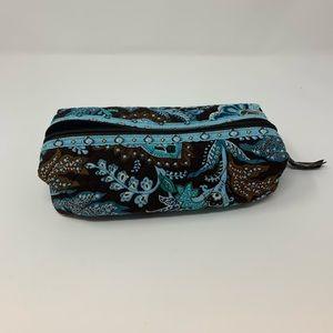New Vera Bradley Java Blue Small Cosmetics Bag